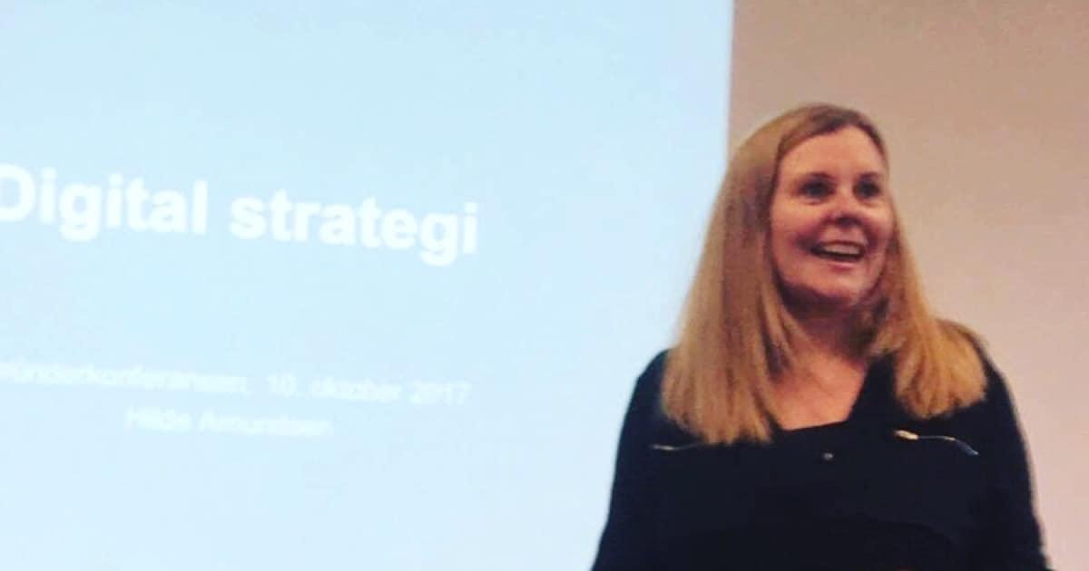 Foredrag om digital strategi på gründeruka i Helgeland